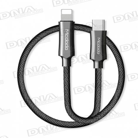 Mcdodo PD Quick Charge Type-C Plug To Lightning Plug Charge & Sync Lead 1.2m