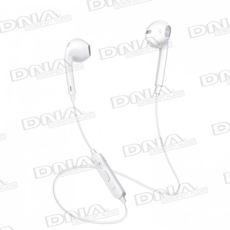 Mcdodo In-Ear D-Shaped Sports Bluetooth Headphones With Inline Mic and Volume Control – White