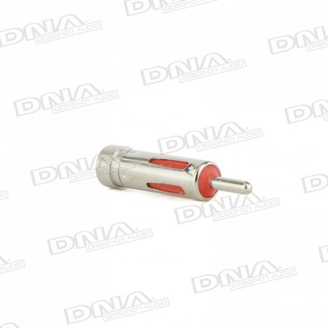 Standard Male Antenna Plug To Female European Socket Antenna Adaptor