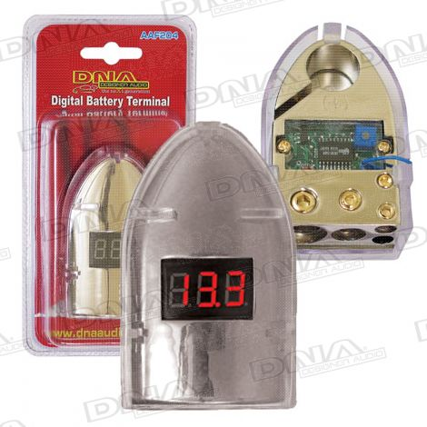 Battery Terminal With Volt Meter