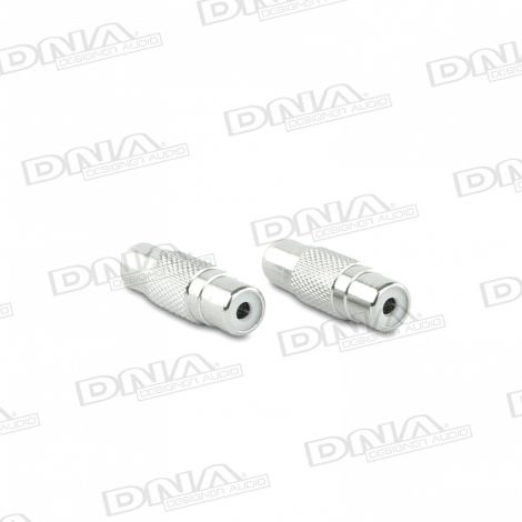 Female To Female RCA Adaptor - 2 Pack