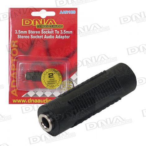 3.5mm Stereo Socket To Socket Adaptor