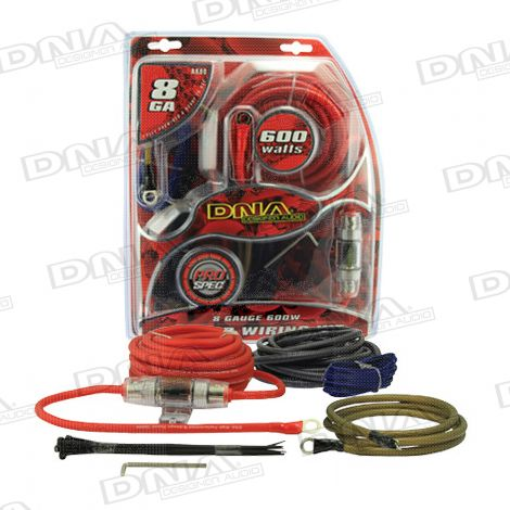8 Gauge 600W Amplifier Power Kit