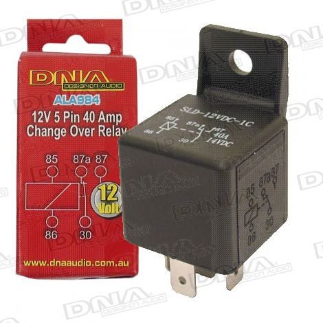 12V 5 Pin Change Over Relay