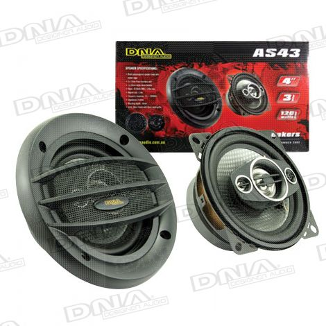 4 Inch 3 Way Speakers - 1 Pair
