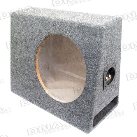 Slimline 10 Inch Slot Ported Subwoofer Box