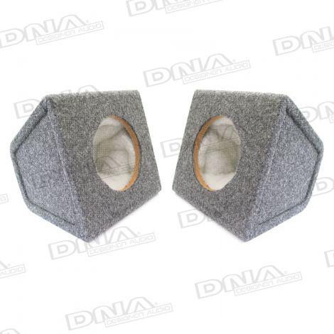 6 Inch MDF Speaker Box - 1 Pair