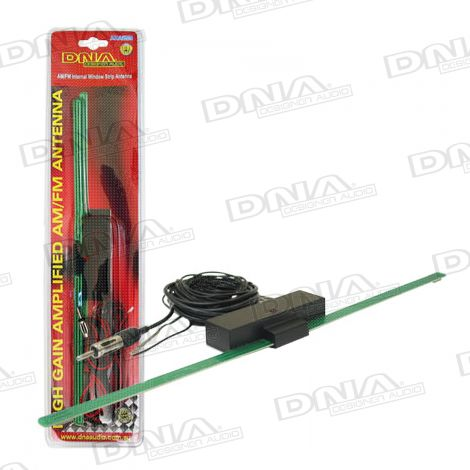 Internal Window Strip AM/FM Antenna