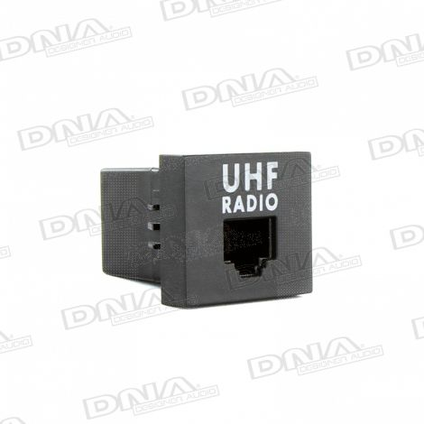 UHF RJ45 Factory fit switch socket to suit  Ford & Mazda vehicles