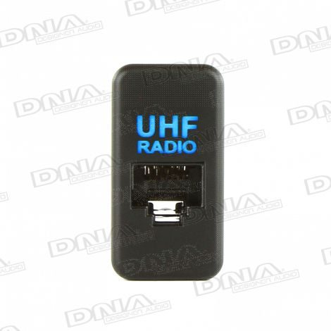 UHF Socket With Illumination To Suit Toyota - Large Socket