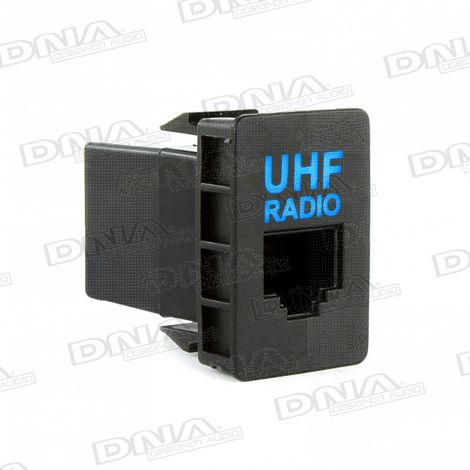 UHF Socket With Illumination To Suit Toyota - Medium Socket