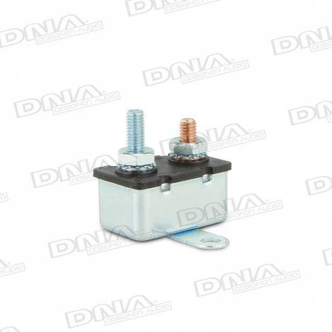 Metal Short Stop Auto Reset Thermal Circuit Breaker - 50 Amp