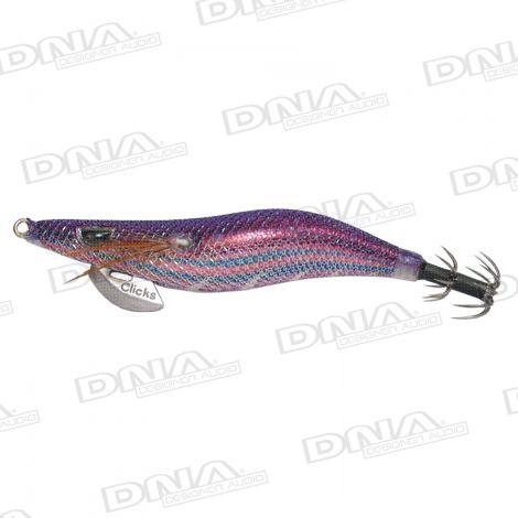 Clicks 2.5 Size Squid Lure Colour 052 -  Bordeaux Purple / Wild Berry