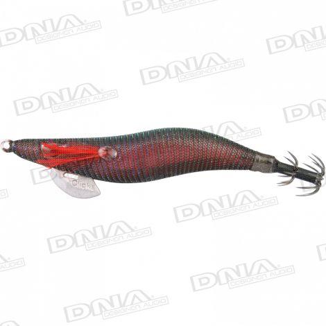 Clicks 2.5 Size Squid Lure Colour 094 - Black Opal