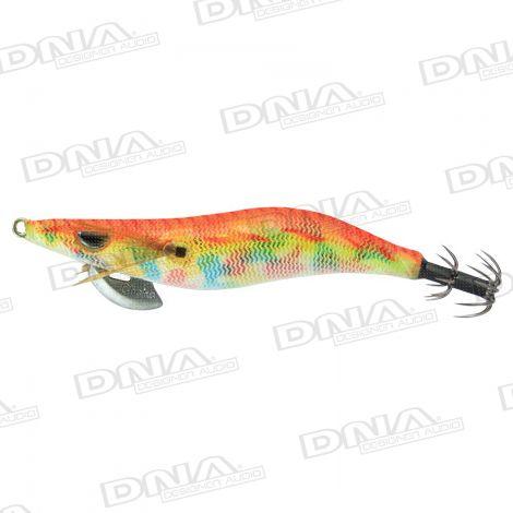 Clicks 3.0 Size Squid Lure Colour 002 - Orange Marble