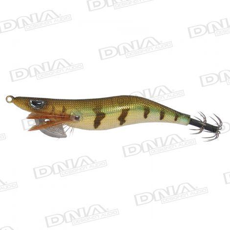 Clicks 3.0 Size Squid Lure Colour 010 - Brown / Gold
