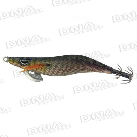 Clicks 3.0 Size Squid Lure Colour 022 - Satsuma Black Smoke