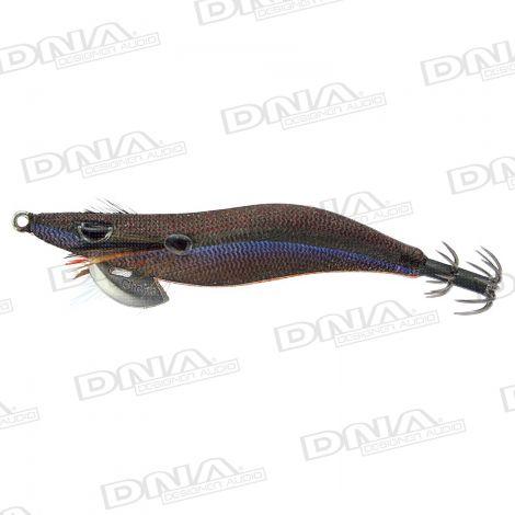 Clicks 3.0 Size Squid Lure Colour S5 - Satsuma Tradition Olive Black Fog