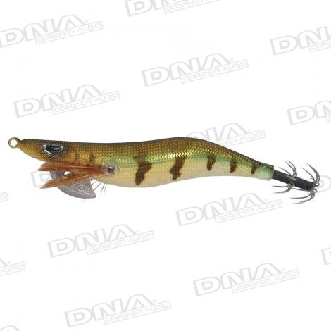 Clicks 3.5 Size Squid Lure Colour 010 - Brown / Gold