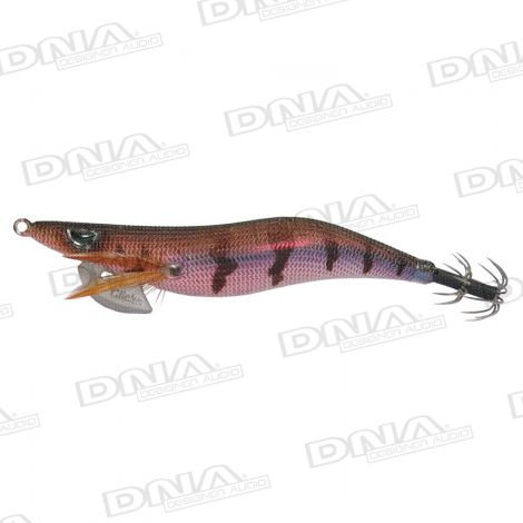 Clicks 3.5 Size Squid Lure Colour 011 - Brown / Red