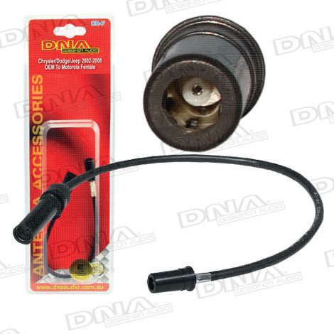 Antenna Adaptor To Suit Chrysler Dodge Jeep