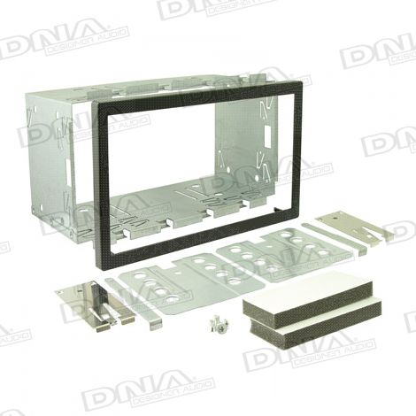 110mm High Double Din Cradle with Plastic Surround