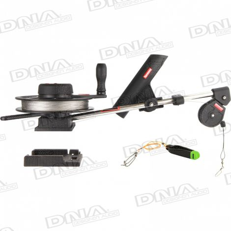 Manual Horizontal Spool Downrigger For Fishing