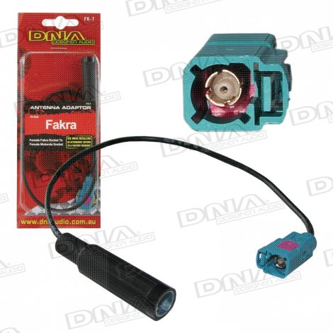 Female Fakra Socket  To Standard Male Motorola Antenna Socket