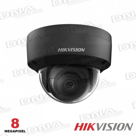 8MP Shadow Series Outdoor Dome Camera, 30m IR, 120dB WDR, IP67, IK10, 2.8mm