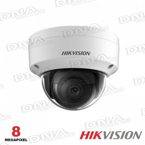 8MP Outdoor Dome Camera, H.265+, 30m IR, 120dB WDR, IP67, IK10, 2.8mm