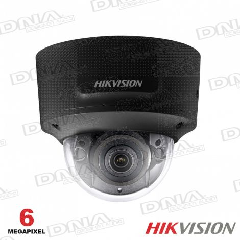 6MP Shadow Series Outdoor Motorised VF Dome, 30m IR, IO, WDR, IP67,2.8-12mm