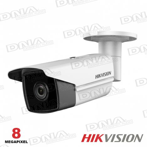 8MP Outdoor Bullet Camera, H.265+, 50m IR, 120dB WDR, IP67, 4mm