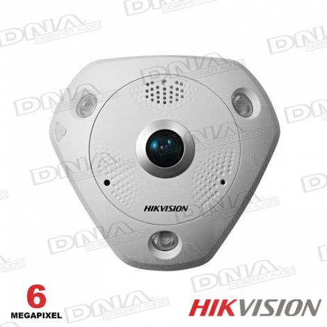6MP Outdoor Fisheye 360, 3D DNR, DWDR, IR, IP66, Panoramic