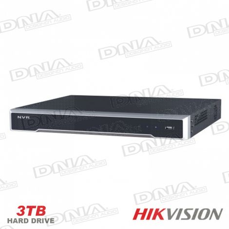 HIKVISION 8ch PoE NVR + 3TB HDD