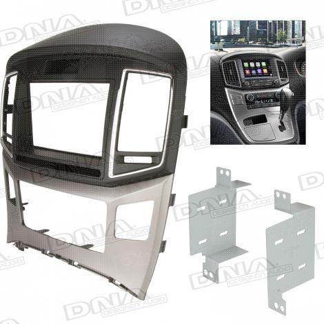 Fascia Panel Suit Hyundai iMax - Black / Silver