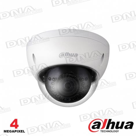 4MP WDR IR Mini-Dome Network Camera