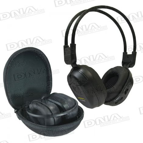 Dual IR Foldup Wireless Headphones