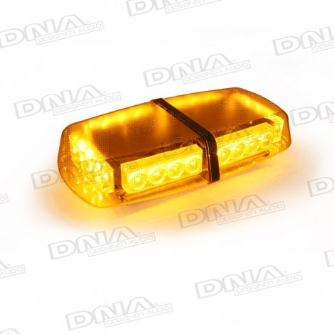 Large Amber LED Light With Magnets