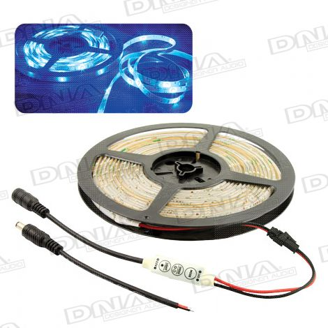 Blue SMD 3528 LED Light Roll - 5 Metres