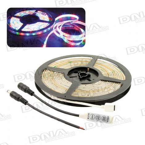 Multicolour SMD 3528 LED Light Roll - 5 Metres