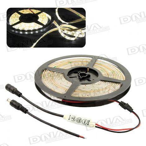 Natural White SMD 3528 LED Light Roll - 5 Metres