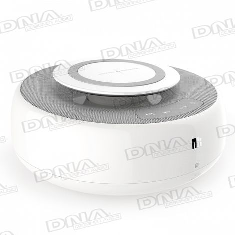 Bluetooth Speaker with USB Charger and Wireless QI Charging Pad
