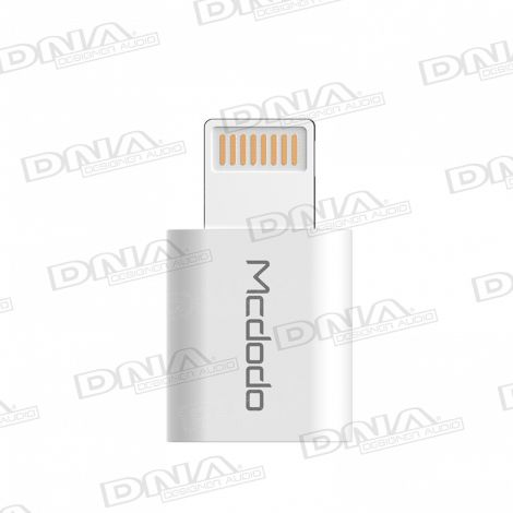 Micro-USB socket to Lightning Plug Adaptor