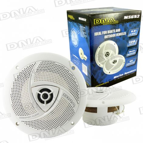 6.5 Inch 2 Way Marine Speakers - 1 Pair