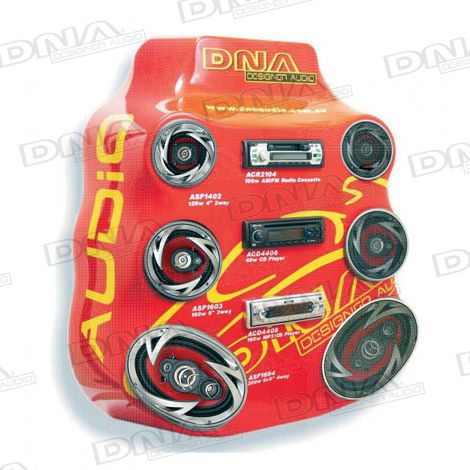 Car Audio Board Red