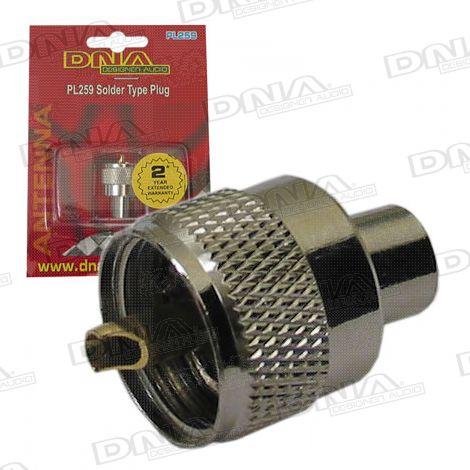 PL259 Solder Type UHF Plug