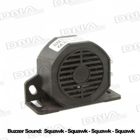 Reversing Backup Alarm Squawker - Black