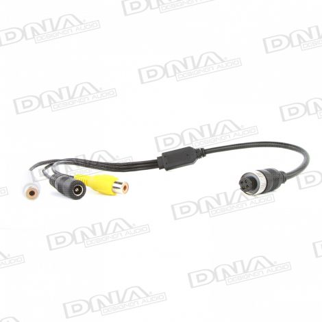 4 Pin To RCA Adaptor Cable