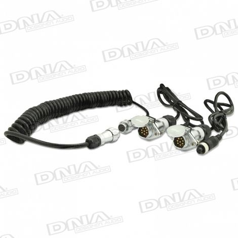 Heavy Duty 7 Pin WOZA Trailer Cable Kit For Single Camera