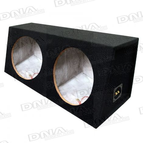 12 Inch Double Subwoofer Box Enclosure